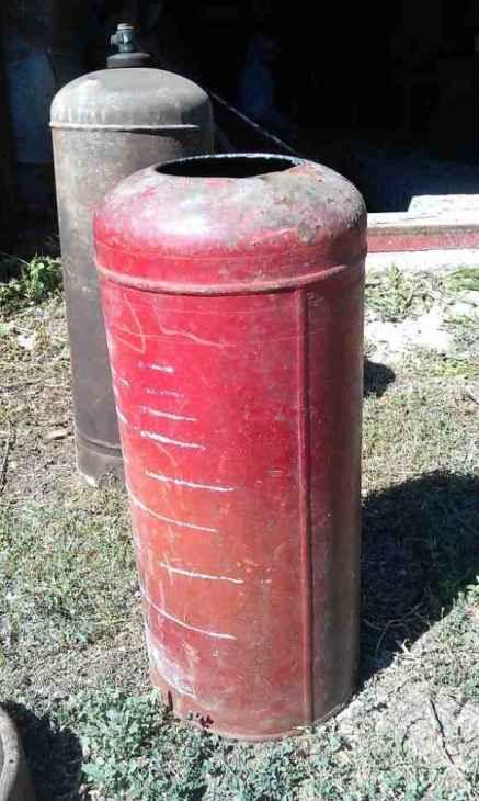 Газовый баллон для камеры сгорания