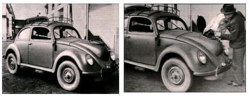 Газогенераторный автомобиль вольксваген жук в заводском исполнении