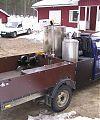 Пааво Саакилати закончил переделку автомобиля в конце зимы 2006 года. Использовал тканевые фильтры. Кузов изготовил из стекловолоконных панелей.