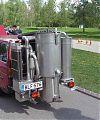 Volvo 245 GL принадлежащее Юха Каарели из Тампере оборудован газогенератором в 2005 году.