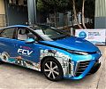 Испытательный водородомобиль Toyota