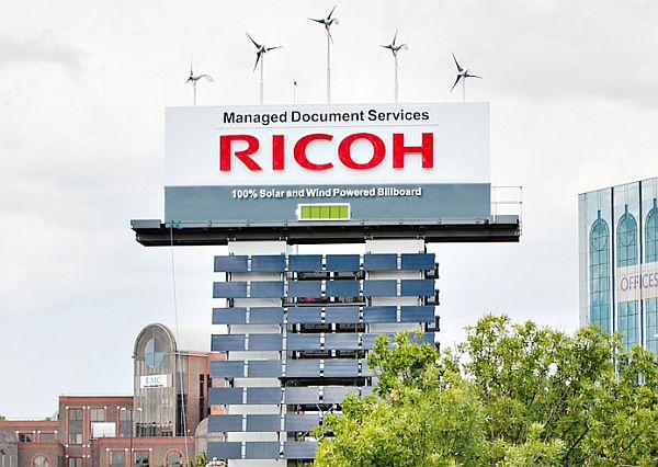 Экологичный билборд