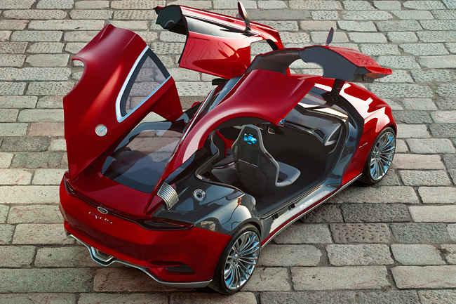Электромобиль концепт Evos
