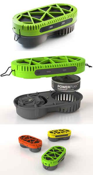 Зарядное устройство PowerTrekk
