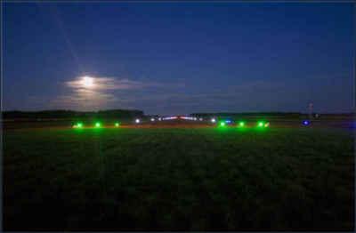 Аэродром на солнечных батареях