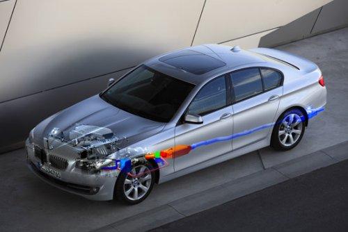 Паровой двигатель у BMW