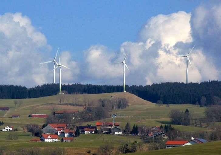 Деревня генерирующая энергию