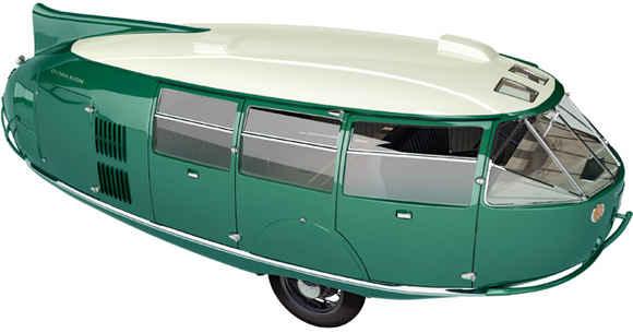 Dymaxion - автомобиль-огурец