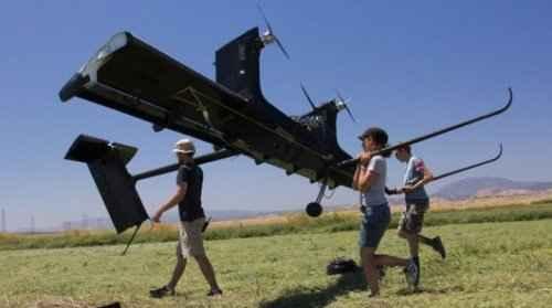 Запуск летающего ветрогенератора