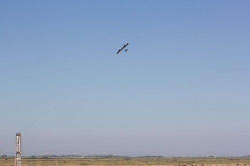 Ветрогенератор Wing 7 в полете