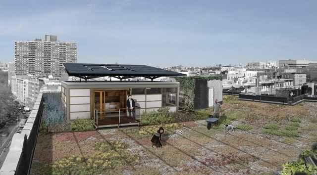 «Солнечный» блок Roofpod