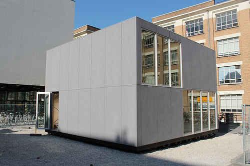 Дом E-cube, который можно собрать своими руками за пару дней с помощью инструкции