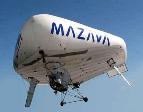 Летательный аппарат Solar Ship