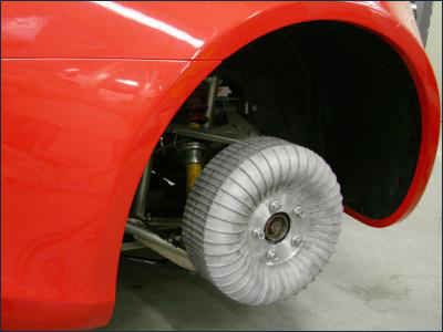 Колесо-мотор автомобиля Frecc0
