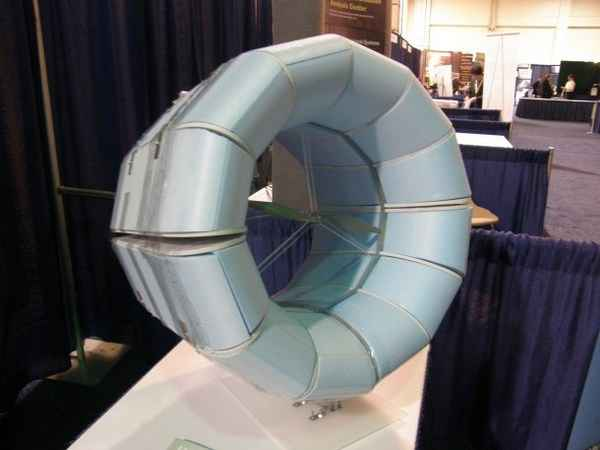 Кольцевой ветрогенератор