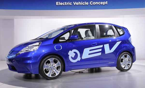 Электромобиль Honda Jazz (Fit) EV
