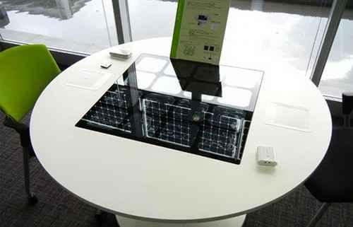 Солнечные панели встроены в интерьер