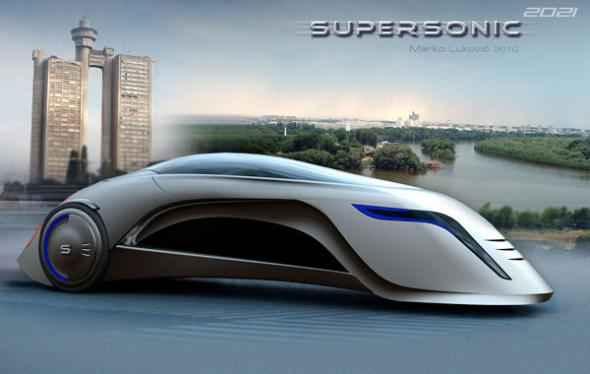 Сербский электромобиль Supersonic