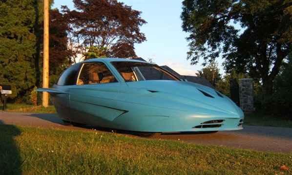 Автомобиль канадской компании Zoleco