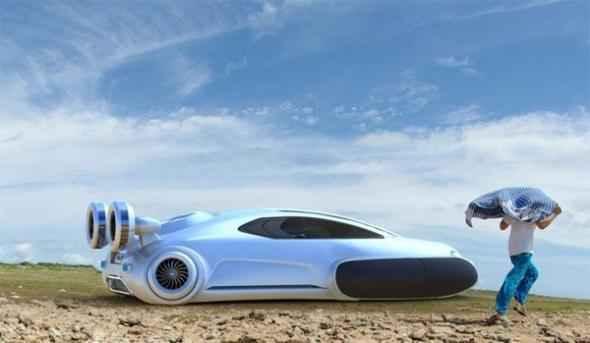Виденье автомобиля молодым дизайнером Юханом Чжаном