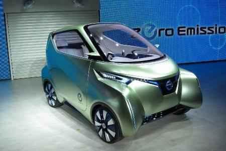 Концептуальный электромобиль Pivo