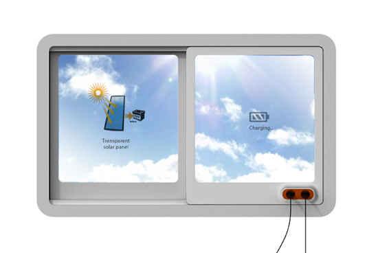 Концепт Solar Window – окна с прозрачными солнечными батареями