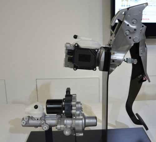 Электрическая автомобильная тормозная система