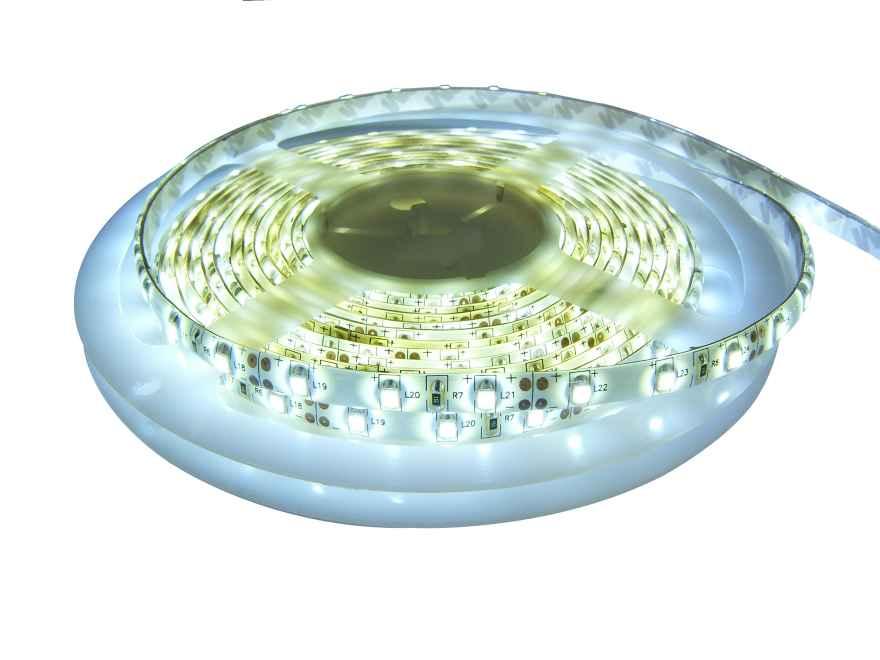 Светодиодная лента SMD3528 белого холодного свечения
