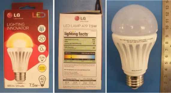 Светодиодная лампа освещения