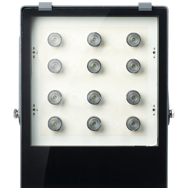 Светодиодный прожектор 5000 LM с линзами