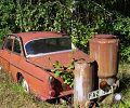 Автомобиль, принимавший участие в 1957 году в Швеции в исследовательской программе, по возможности быстрого перехода автомобилей на использование древесного газа.