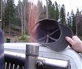 При запуске газогенератора и выходе на рабочий режим должно быть открытое пламя.