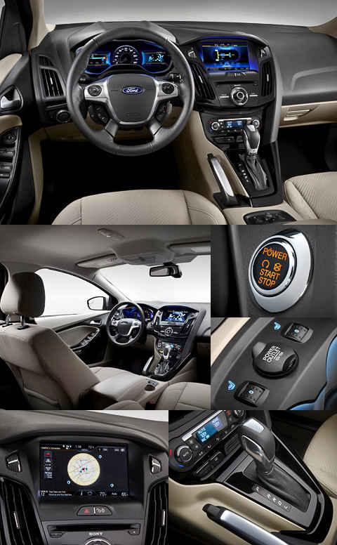 Новый Форд Focus Electric