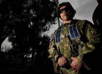 Солнечные панели для военных