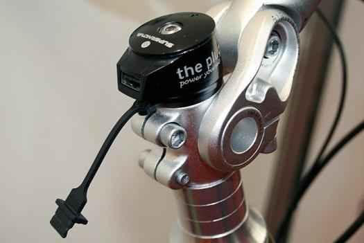 Велосипед с USB зарядкой