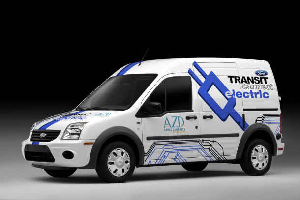 Ford Transit Connect Electric Wagon