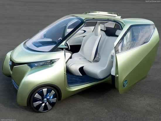 Салон электромобиля PIVO3