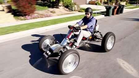 20 миль с ветерком можно проехать на электрическом Z-Kart
