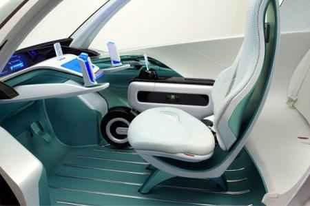 Разработчики интригуют качественно новыми решениями в этом электромобиле