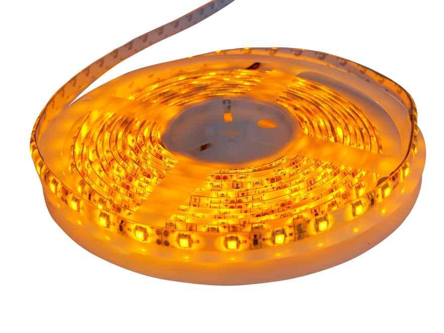 Светодиодная лента SMD3528 желтая
