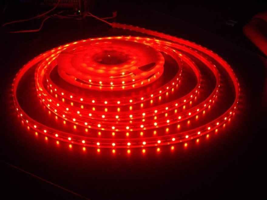 Светодиодная лента SMD3528 красного свечения