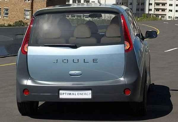 Электрический Joule на улице Южной Африки