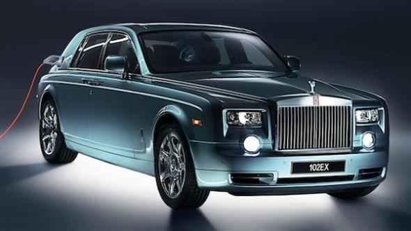Электромобиль Rolls-Royce Phantom 102EX