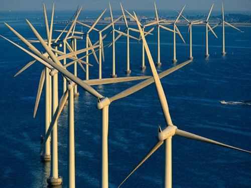 Оффшорные ветряные электростанции