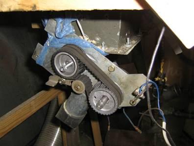 Механизм подачи древесных гранул