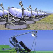 Комплекс солнечных генераторов Стирлинга