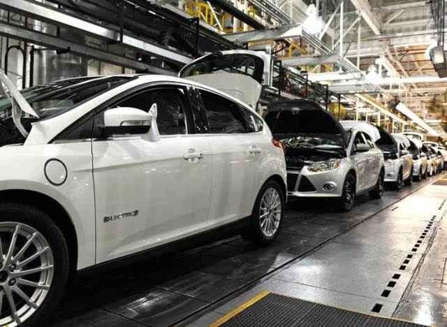 На заводе Ford в Мичигане стартовало производство Focus Electric
