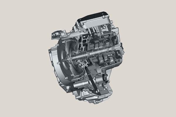 9-ступенчатая автоматическая коробка передач ZF