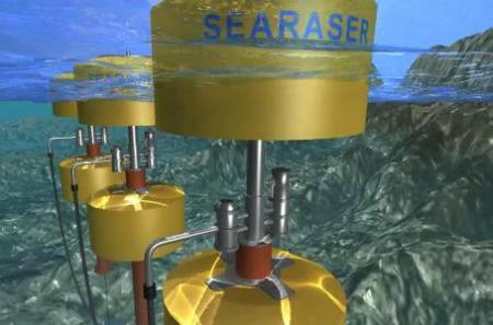 Насос, работающий от движения воды - Searaser
