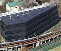 Токийский технологический институт, полностью покрытый солнечными батареями